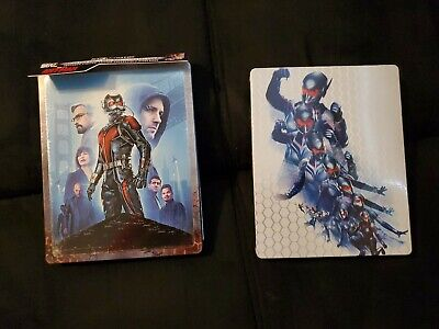 Antman 4k Steelbook (Best Buy) + Antman & The Wasp 4k Steelbook (Zavvi)+ Digital