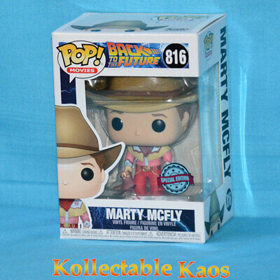 Back To the Future Part III - Marty McFly in Cowboy Outfit Pop! Vinyl (RS) #816