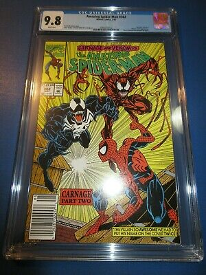 Amazing Spider-man #362 2nd Carnage CGC 9.8 NM/M Gorgeous Gem Wow Venom