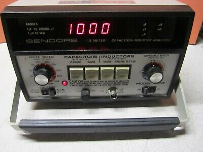 Sencore Z Meter Capacitor-Inductor Analyzer LC-53