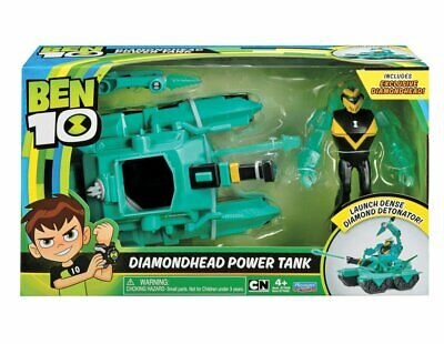 1916624-Ben 10 Ultimate Alien Veicolo - Diamond Head Power Tank