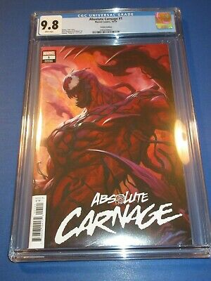 Absolute Carnage #1 Artgerm Variant CGC 9.8 NM/M Gorgeous Gem Great Cover wow