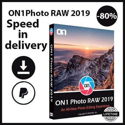 ON1 Photo RAW 2019 Windows Mac Official✔️Lifetime Key🔑FAST DELIVERY📬