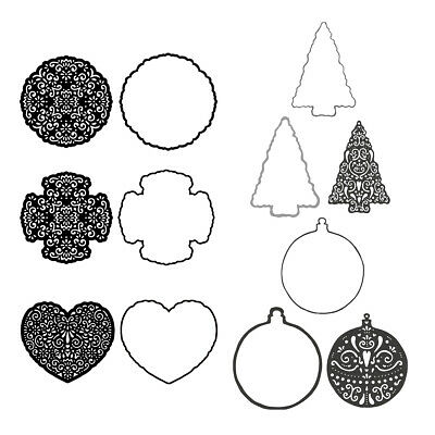 Decoration Metal Cutting Dies Stencil Scrapbooking Paper Card Crafts Embossing