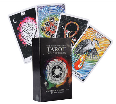The Wild Unknown Tarot Cards Deck Rider-Waite Oracle Fortune Telling Card Gifts