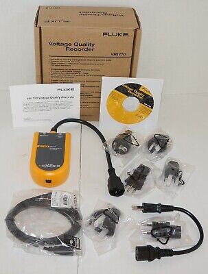 Fluke Vr1710 Single Phase Power Quality And Voltage Recorder New