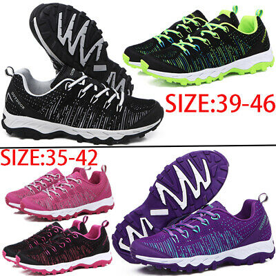 Mens Womens Casual Sports Outdoor Sneakers Running Walking Hiking Shoes Trainers