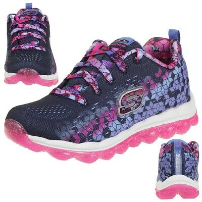 Skechers Skech Air Fade N' Fly Sneakers Trainers Girls Children's Shoes