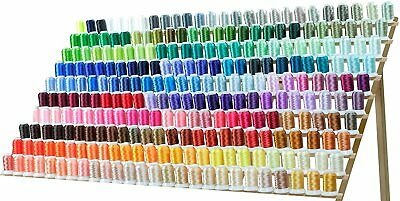 260 Spools Polyester & Embroidery Sewing Machine Thread set - 550Y each Spools