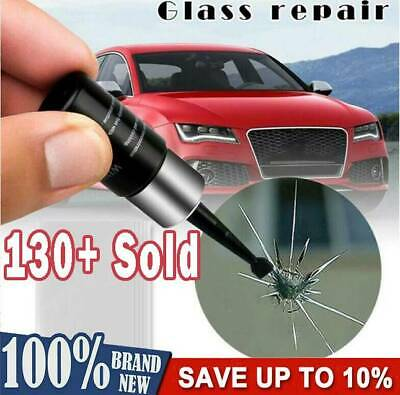 Automotive Glass Nano Repair Fluid Car Window Glass Crack Kit Tool Chip Repair