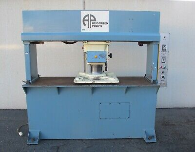 Associated Pacific Travelling head Clicker Press Die Cutting Hydraulic Press