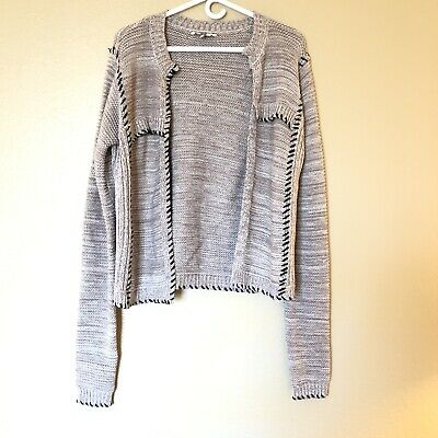 Sweater BKE Boutique Mesh Front Sweater SZ Large From The Buckle BKE New NWT