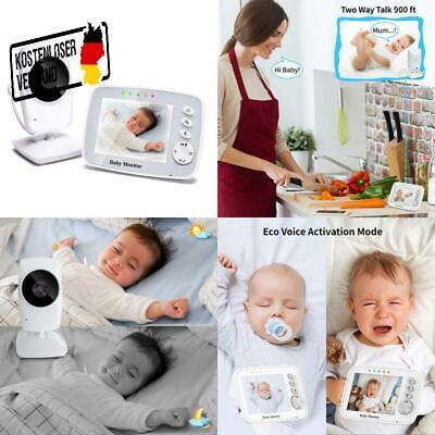 TOPERSUN BABY PHONE Baby Monitor 2.4 GHz Baby Kamera mit LCD