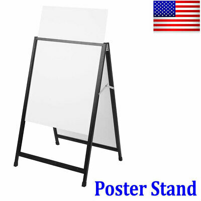 Christmas Sale! A-Frame Poster Stand Advertising Sign Board Sidewalk Double Side