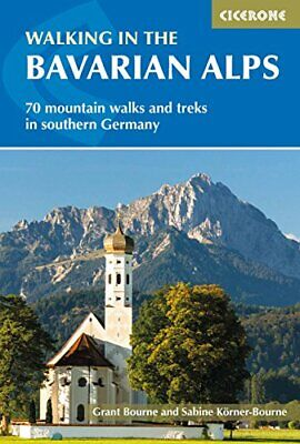 Walking in the Bavarian Alps by Bourne  New 9781852849290 Fast Free Shipping--