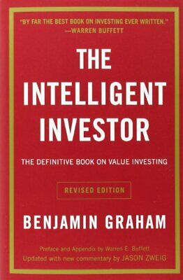 Intelligent Investor by Graham  New 9780060555665 Fast Free Shipping--