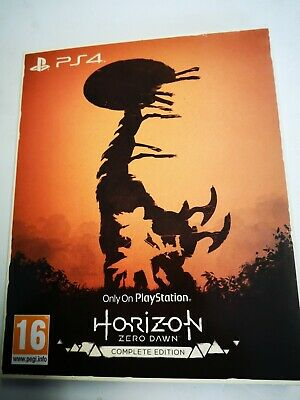 * Playstation 4 NEW ONLY ON PLAYSTATION Game HORIZON ZERO DAWN Complete Ed. PS4