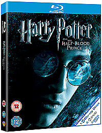 Harry Potter And The Half-Blood Prince Blu-ray & DVD 3 Disc Slipcase Box Set NEW