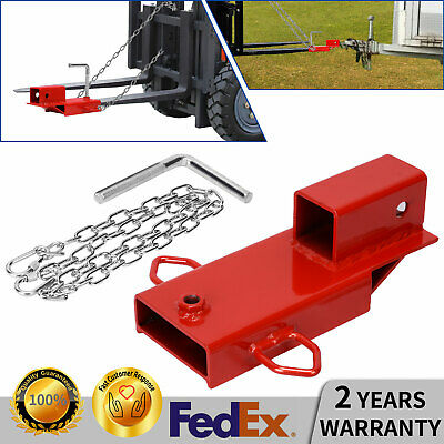 Extreme Max 5001.1373 Clamp-On Forklift Fork Hitch Receiver Adapter 2