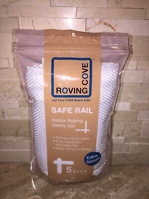 Roving Cove Safe Rail Indoor Railing Safety Net