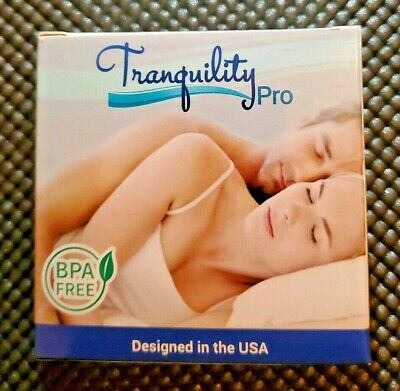Tranquility Pro Adjustable Bruxism Night Mouthpiece Sleep Mouthguard Guard Aid