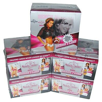 5 Box Lot BENCH WARMER 2011 Bubblegum Trading Cards, Models, Playmates, New