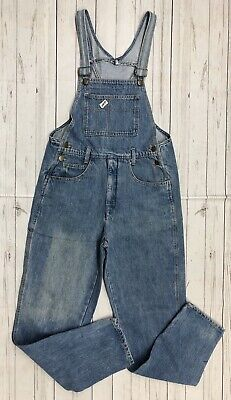 Vtg GUESS Mens Sz M 32x32 Denim Overalls by Georges Marciano Made In USA Unisex