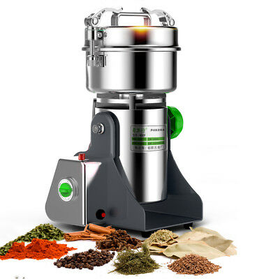 220V Electric Grain Herb Grinder Cereal Mill Flour Coffee Grinding Machine