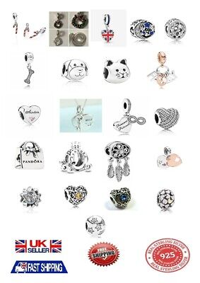 New Authentic Genuine Pandora's Charms ALE S925 Sterling Silver