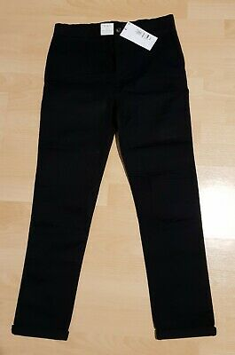 M&S Boys  black chinos Age 9-10 plus fit BNWT