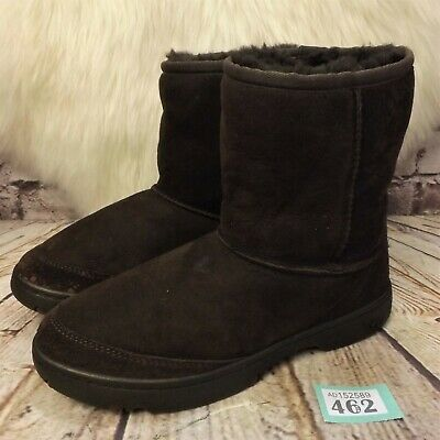 Girls UGG Australia Brown Ultimate Short Sheepskin Boots UK 4 EUR 35 -Model 1240