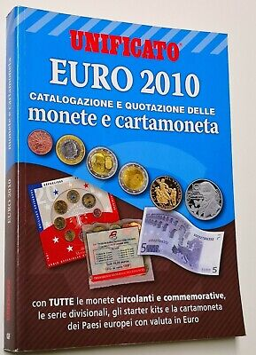 Unificato Catalogo Euro Monete E Cartamoneta 2010 Con Commemorative