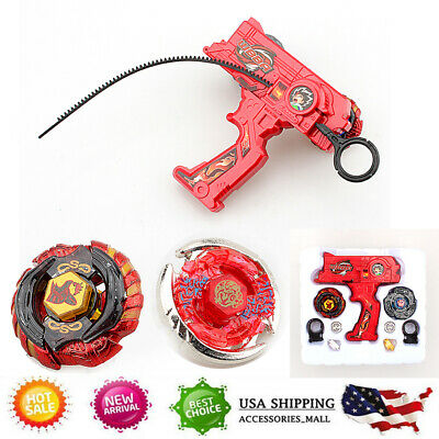 Metal Master Rare 4D Launcher Kids Grip Beyblade Set Fusion Top Rapidity Fight