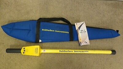 SubSurface Instruments ML-1 Magnetic Locator Industrial Metal Detector w/ Case