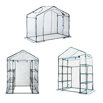 Portable Walk-in Greenhouse Garden Flower Plant Growing Warm House 3 Size