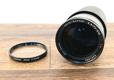 Contax Carl Zeiss Vario-Sonnar 70-210mm f3.5 T* Lens *Made in West Germany*