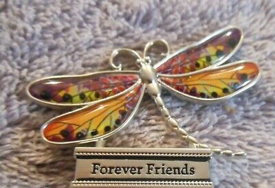 F You are so loved LIVE WITH JOY DRAGONFLY FIGURINE miniature Ganz