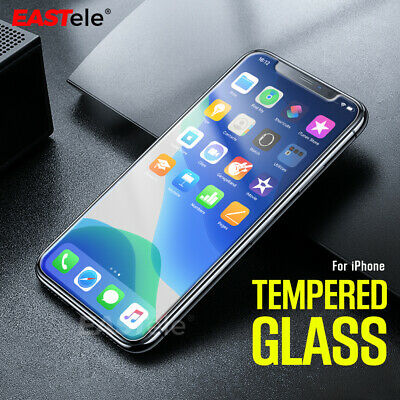 2x Tempered Glass Screen Protector EASTele Apple iPhone 11 Pro Max XS MAX XR X