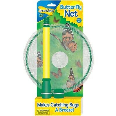 Butterfly Net Catcher Capture Outdoor Student Bug Insect Lore Toy Catching