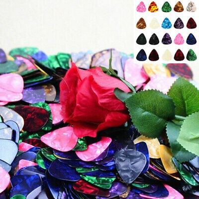 Acoustic Picks Plectrum Celluloid Electric Smooth Guitar Pick 0.71mm 0.96mm