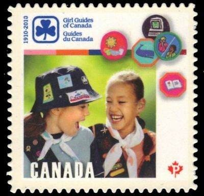 CANADA 2402i - Girl Guides of Canada 100th Anniversary (pa53230)