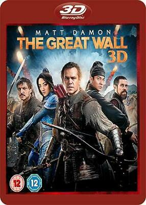 The Great Wall Blu-ray 3D (2016)