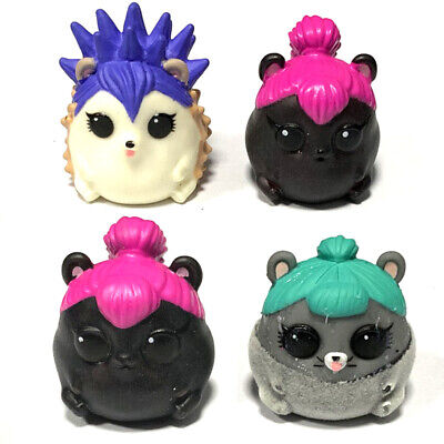 2pcs LOL SURPRISE PETS Series 4 EYE SPY Pet Spicy Ham And Cheeky Hedgehog Figure