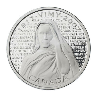 Vimy Ridge Memorial - 2007 Canada $30 Proof Sterling Silver Coin