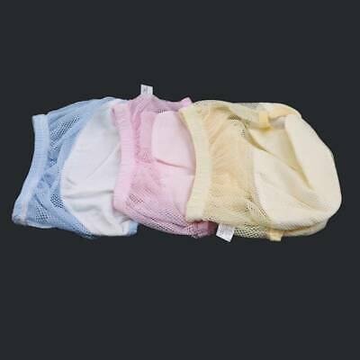 Reusable Newborn Baby Nappies Mesh Diapers Inserts Washable Soft Q