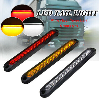 15LED Trailer Truck Caravan UTE Stop Brake Tail Reverse Light Ultra-Slim AU ! ^