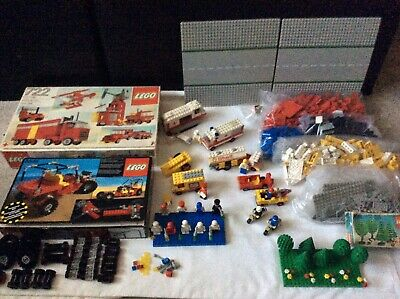 Vintage Lego Sets No.722+8845 Plus Huge Collection Of Extras