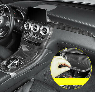 Indoor Gear Shift Frame Cover Trim For Mercedes-Benz GLC Class 260 300 2016-2018