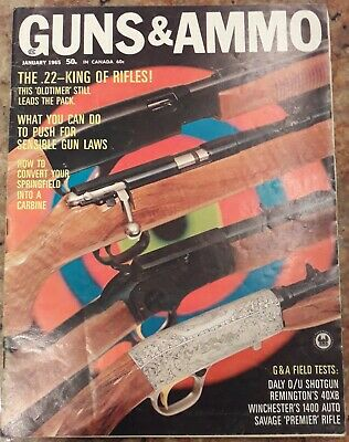 Vintage Guns & Ammo Magazine - January 1965