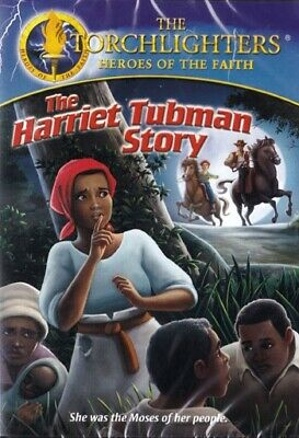 NEW Sealed Christian Documentary DVD! Torchlighters: The Harriet Tubman Story